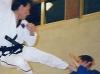 Master Sparks - Flying side kick