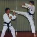 James Sparks- jumping turning kick